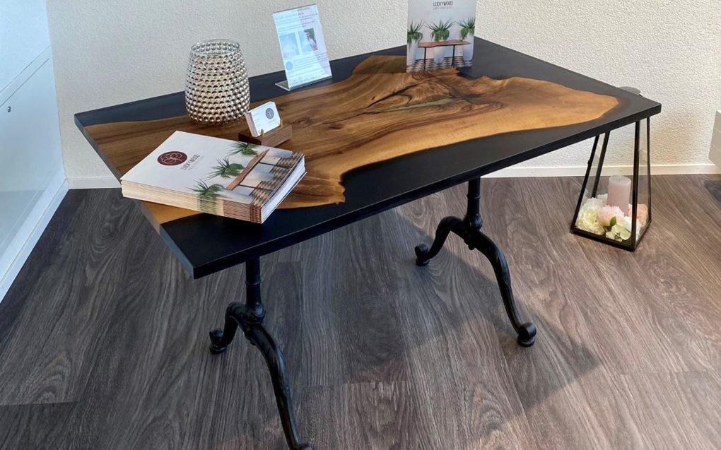 Bistro-Tisch Nussbaum